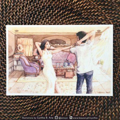 Ang HUling El Bimbo postcard