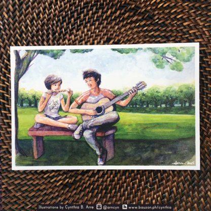Ligaya Eraserheads postcard