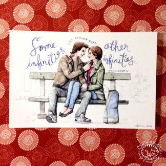 TFIOS postcard print