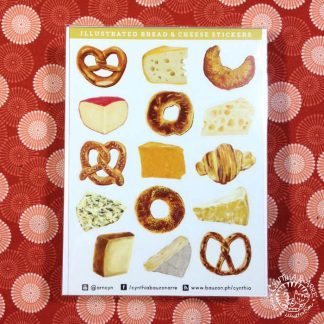 bread and cheese stickers