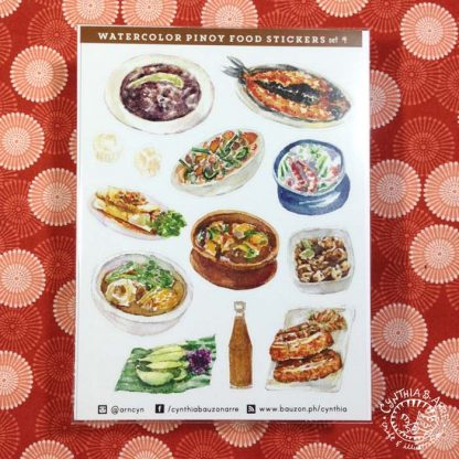 Filipino Food Stickers Ulam