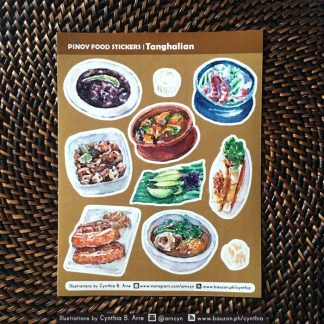 pinoy food ulam stickers