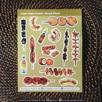philippine street food stickers