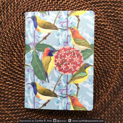 Philippine Native Sunbirds pocket notebooks