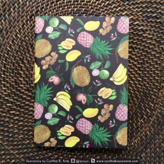 Philippine tropical fruits pocket notebook