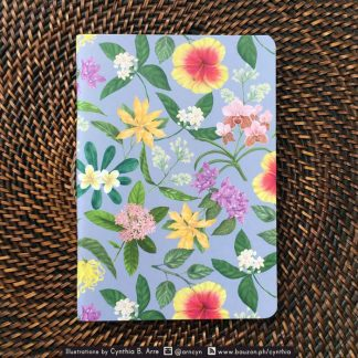 philippine flowers notebook