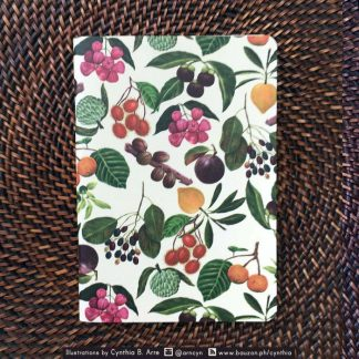 Pinoy Native Fruits notebook