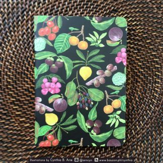 Philippine fruits notebook