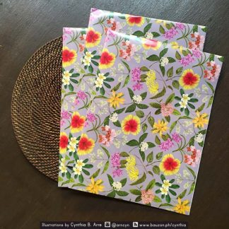 philippine flowers gift wrapper