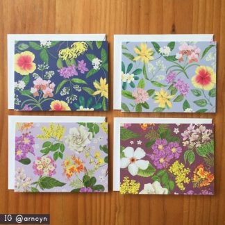philippine flowers note cards