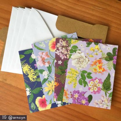philippine flowers cards