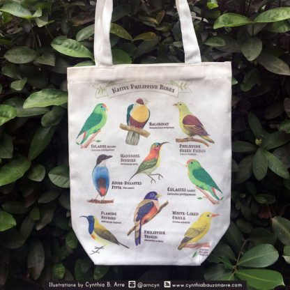 philippine native birds eco bag