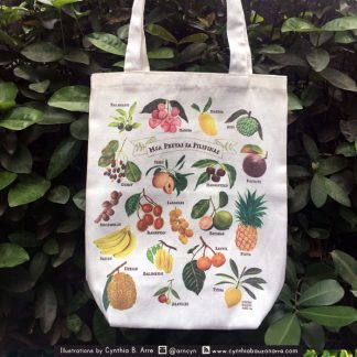 philippine fruits eco bag