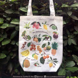 philippine fruits eco bag