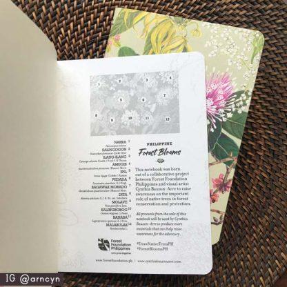 philippine native trees notebooks inside