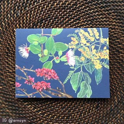 Philippine Native Trees note card 1