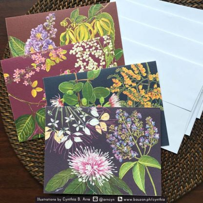 Philippine Native Trees note card with envelopes