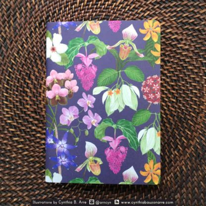 philippine endemic flowers notebook