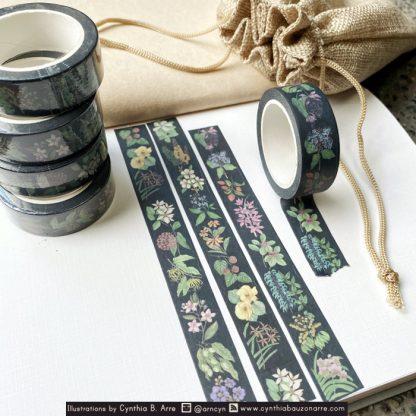 Tanim: Filipino Botanical Washi Tape