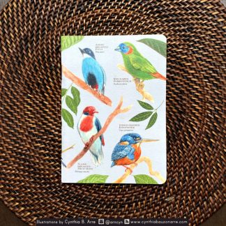 Philippine Forest Native Birds Pocket Notebook
