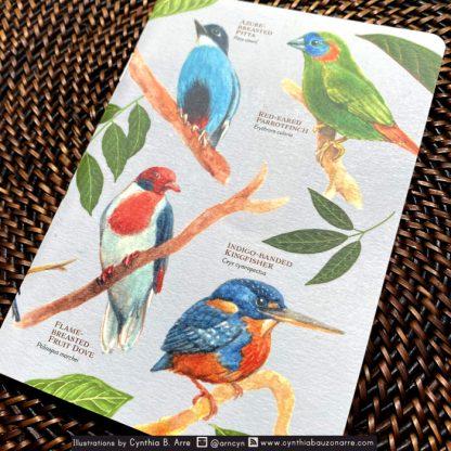 Philippine Native Birds Pocket Notebook