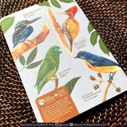 Philippine Forest Native Birds Pocket Notebook