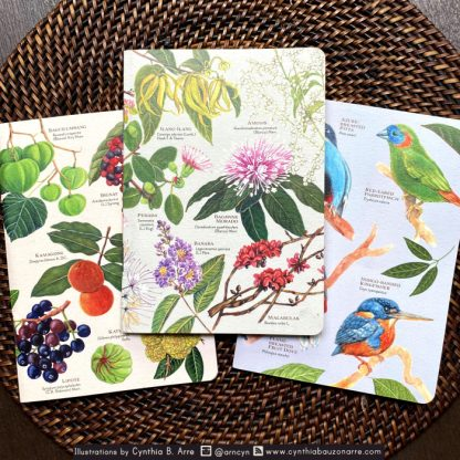 philippine native flora and fauna notebooks