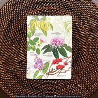 philippine native flowers pocket notebook