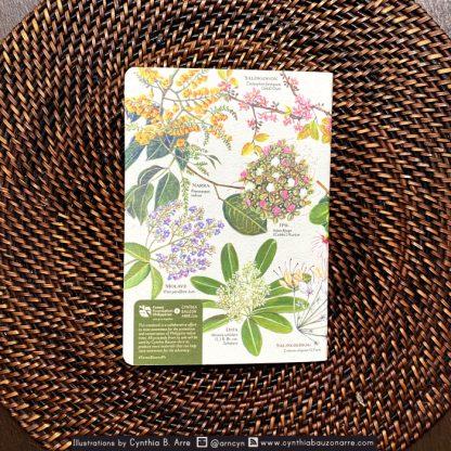 philippine native flowers notebook