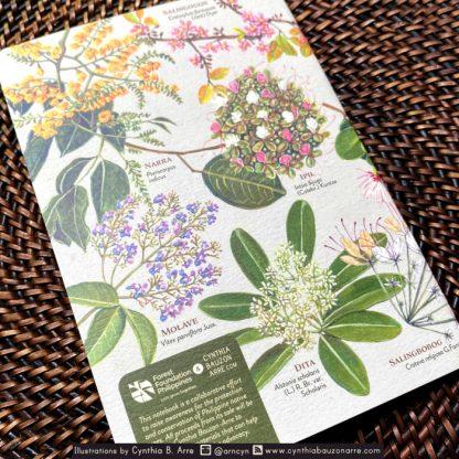 philippine native flowering trees pocket notebook