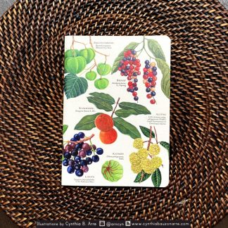 philippine native fruits pocket notebook