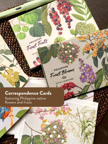 Philippine native trees fruits flowers postcards