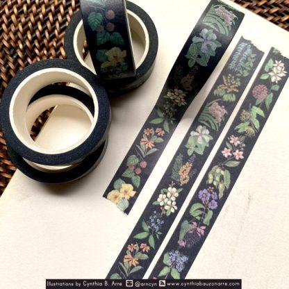 philippine native flora washi tape