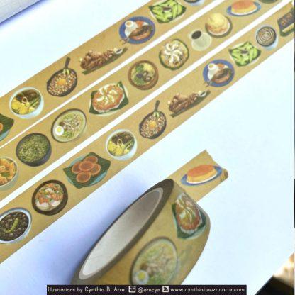 Pagkaing Pinoy: Filipino Food Washi Tape